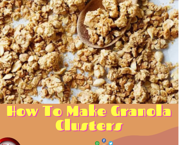 how to make granola clusters