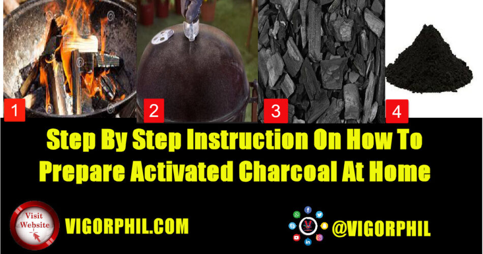 HOW TO MAKE ACTIVATED CHARCOAL AT HOME
